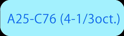A25-C76 (4-1/3oct.)